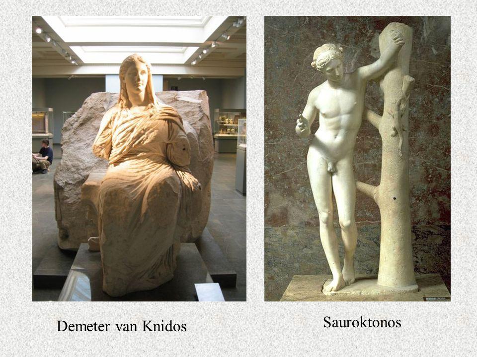 Demeter van Knidos Sauroktonos