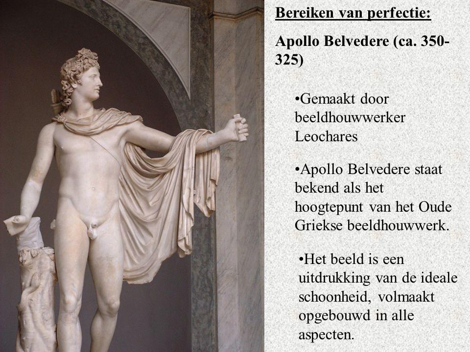 Bereiken van perfectie: Apollo Belvedere (ca.