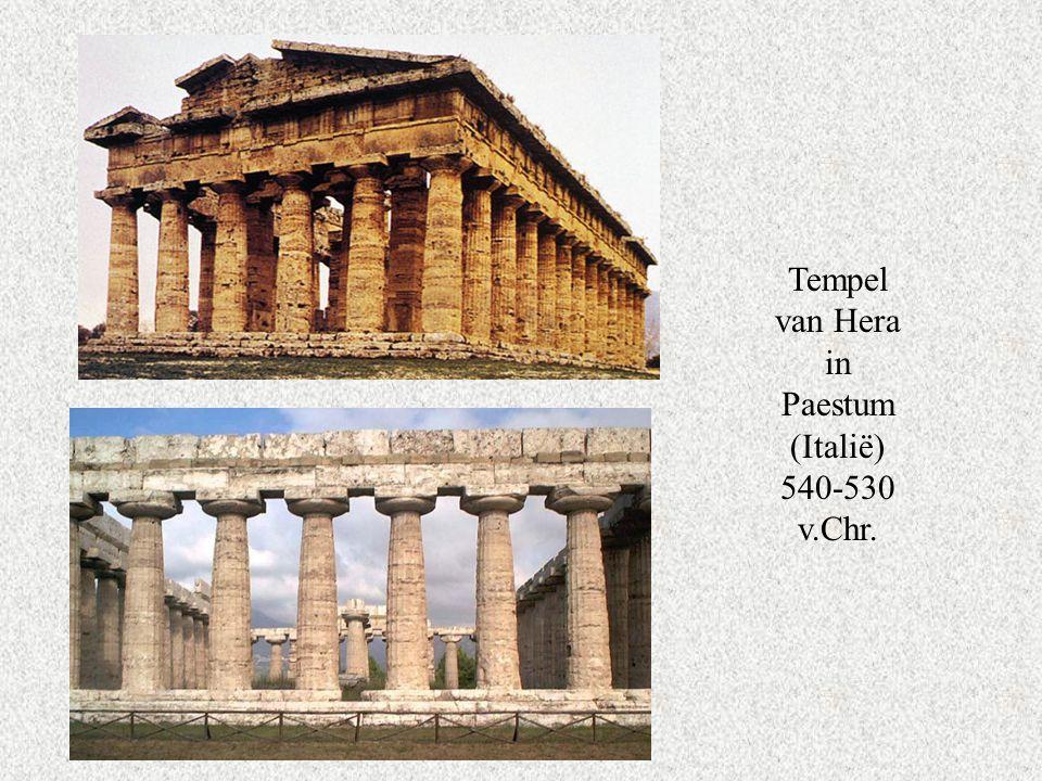 Tempel van Hera in Paestum (Italië) 540-530 v.Chr.