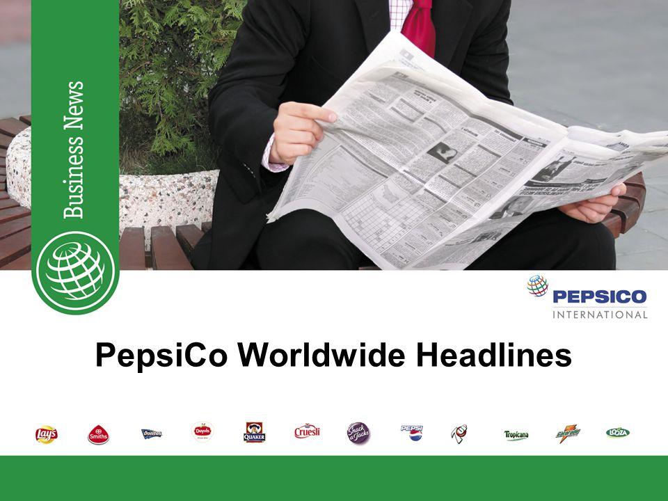 Headlines week 7 PepsiCo Ireland Wins the Cork Company of the Year Award Visit www.pepsico.pvt for more Pepline headlineswww.pepsico.pvt Monday, June 16, 2008