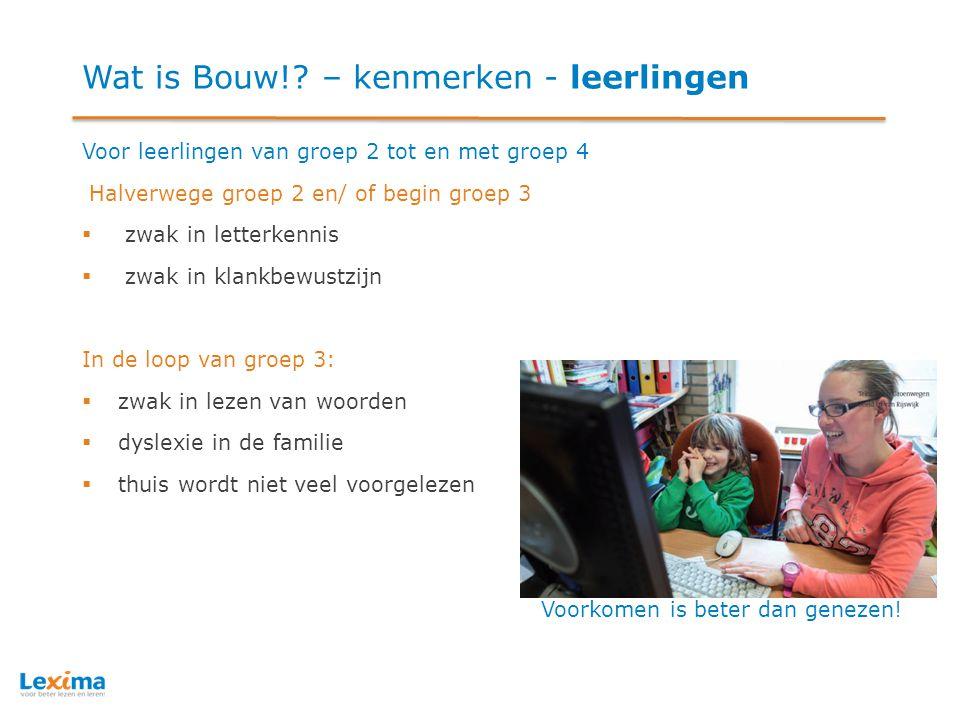 Wat is Bouw!.