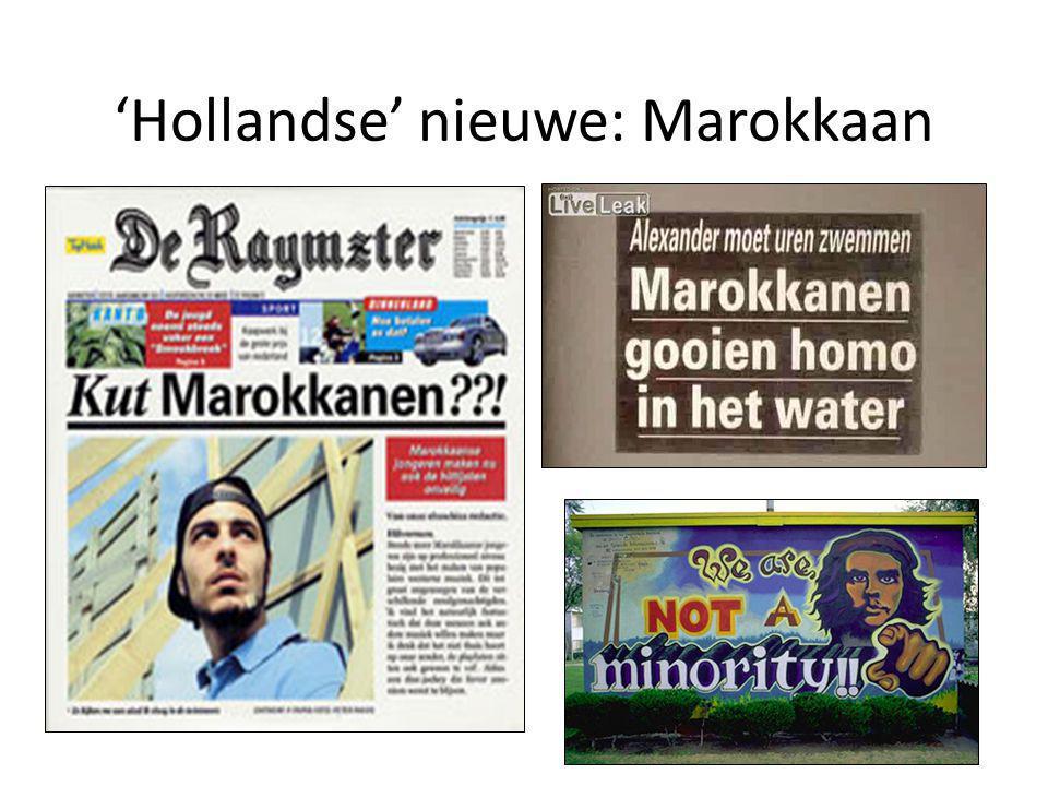 'Hollandse' nieuwe: Marokkaan