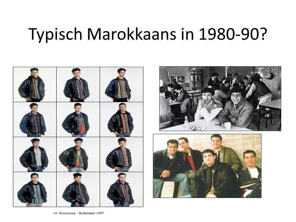 Typisch Marokkaans in 1980-90