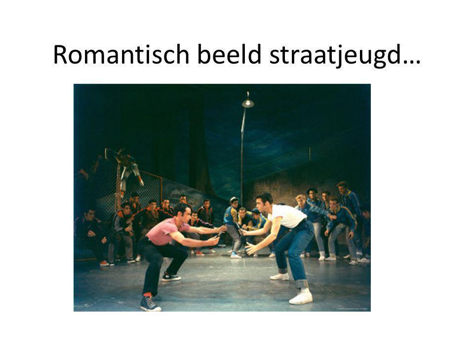 Romantisch beeld straatjeugd…