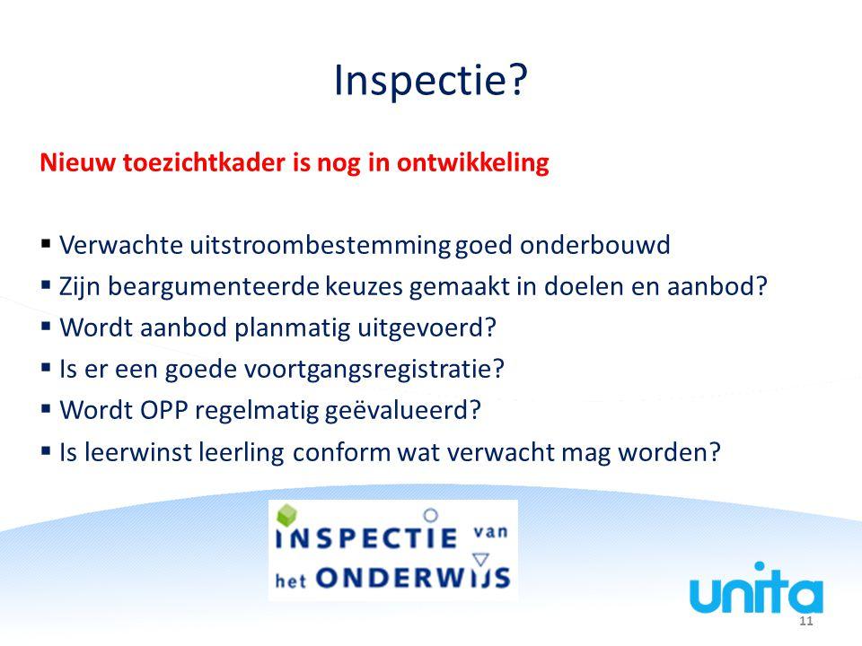 11 Inspectie.