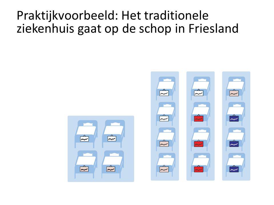 Praktijkvoorbeeld: Het traditionele ziekenhuis gaat op de schop in Friesland