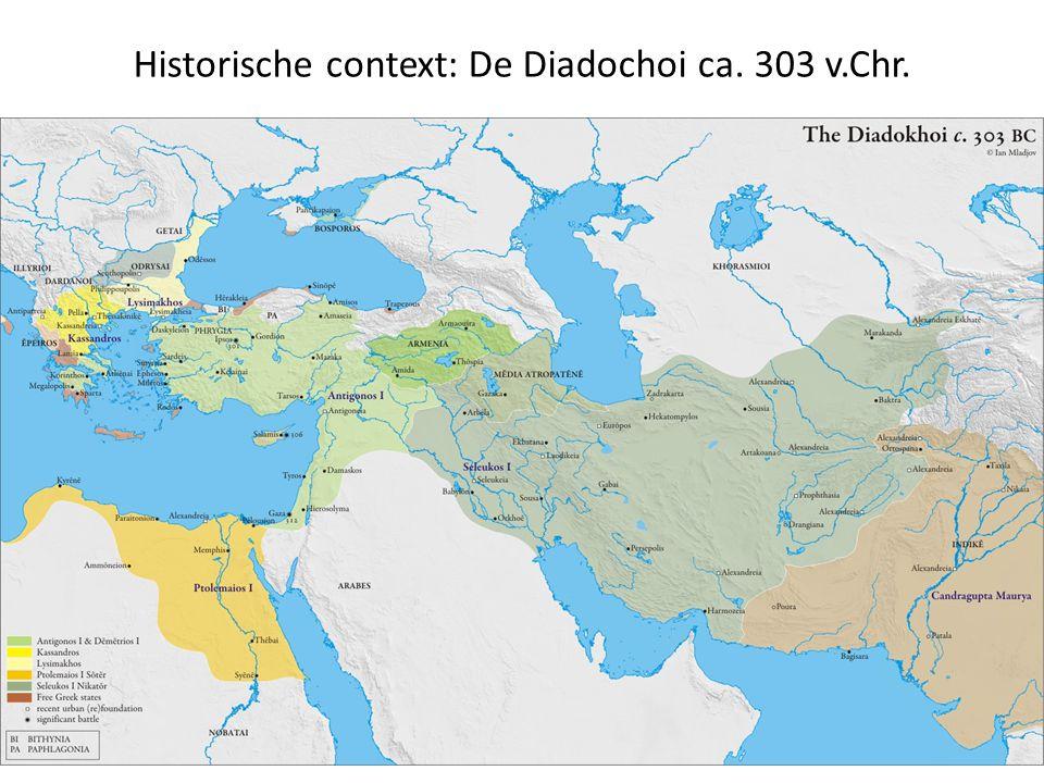 Historische context: De Diadochoi ca. 303 v.Chr.