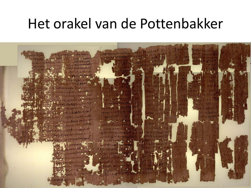 Het orakel van de Pottenbakker 33 3.De Griekse vertaling van Jesaja 7 in context