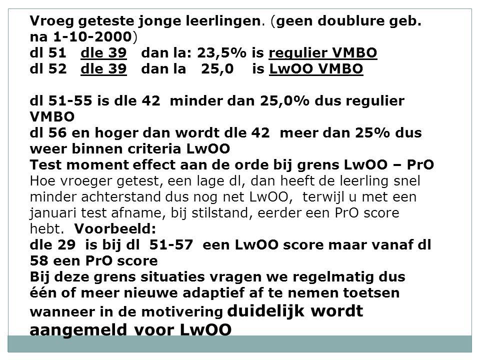 Leerachterstanden toetsen en stevige dyslexie: bij LOVS altijd 2 toetsen en op 2 niveaus.
