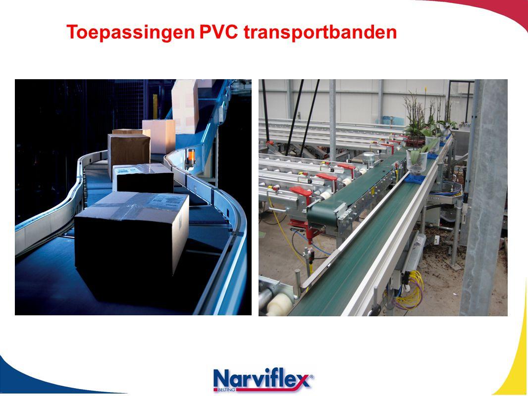Toepassingen PVC transportbanden