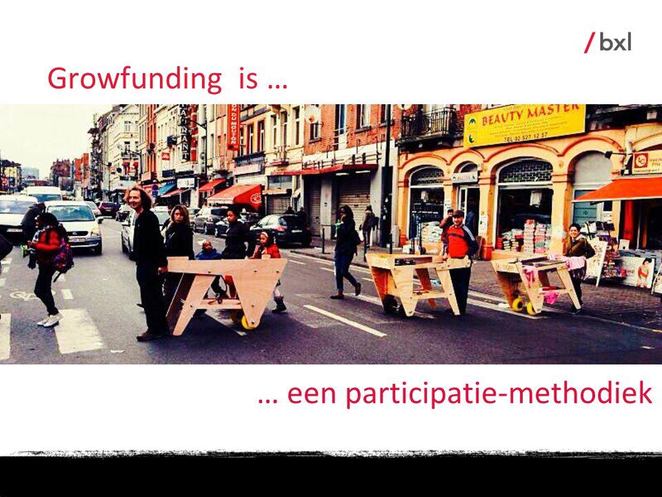 | … een participatie-methodiek Growfunding is …