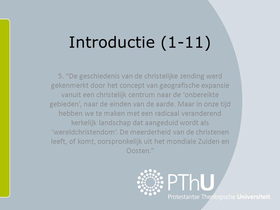 Introductie (1-11) 5.