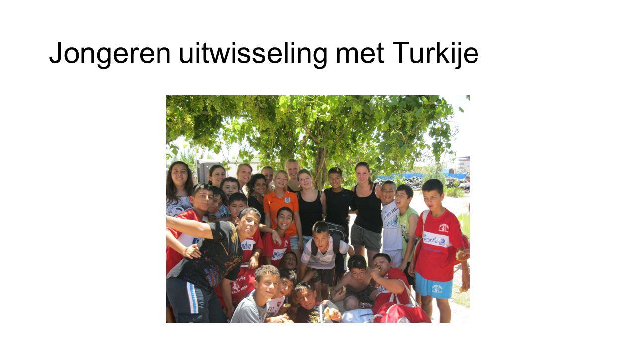 Jongeren uitwisseling met Turkije