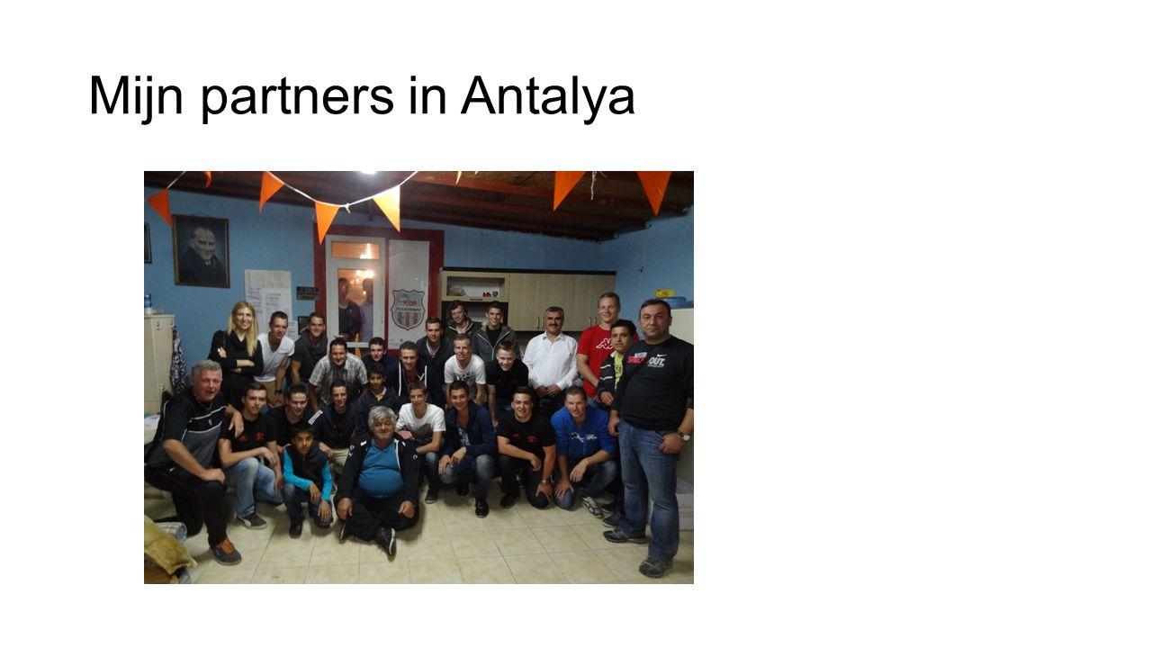 Mijn partners in Antalya