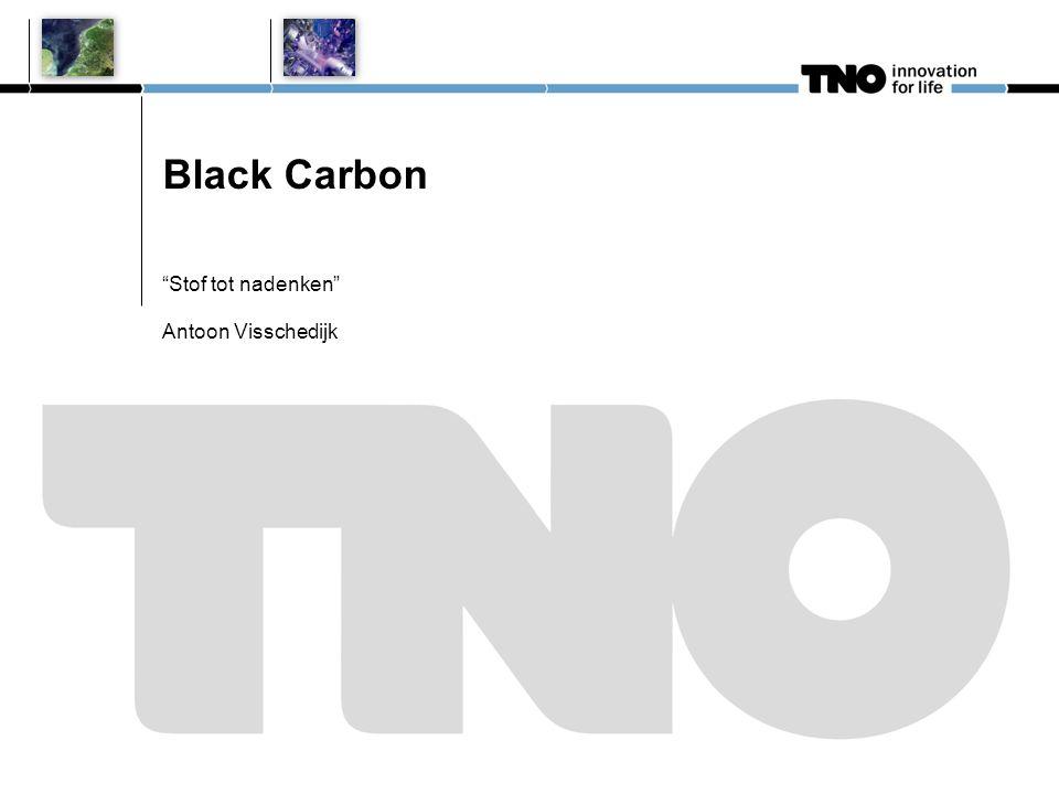 Overzicht presentatie (ca.15 min.) Wat is Black Carbon (BC).