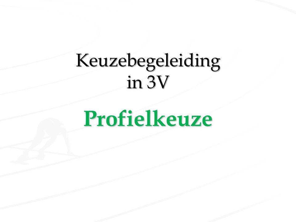 Keuzebegeleiding in 3V Profielkeuze