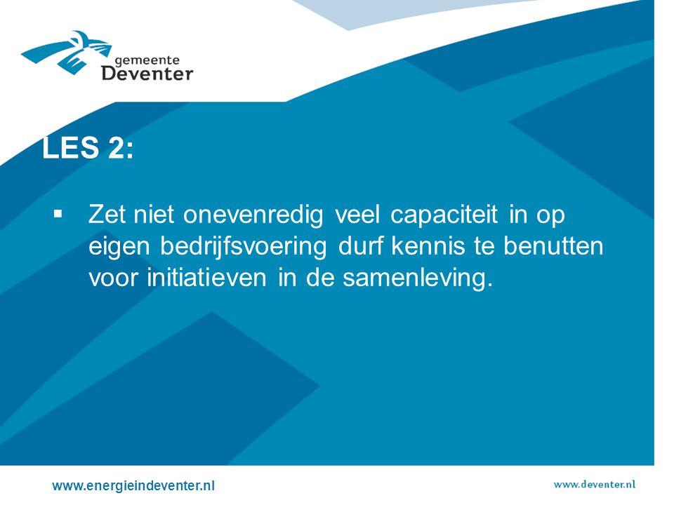 Kernbegrippen in Deventer bij de uitvoering.Bedrijfsleven en corporaties aan kop.