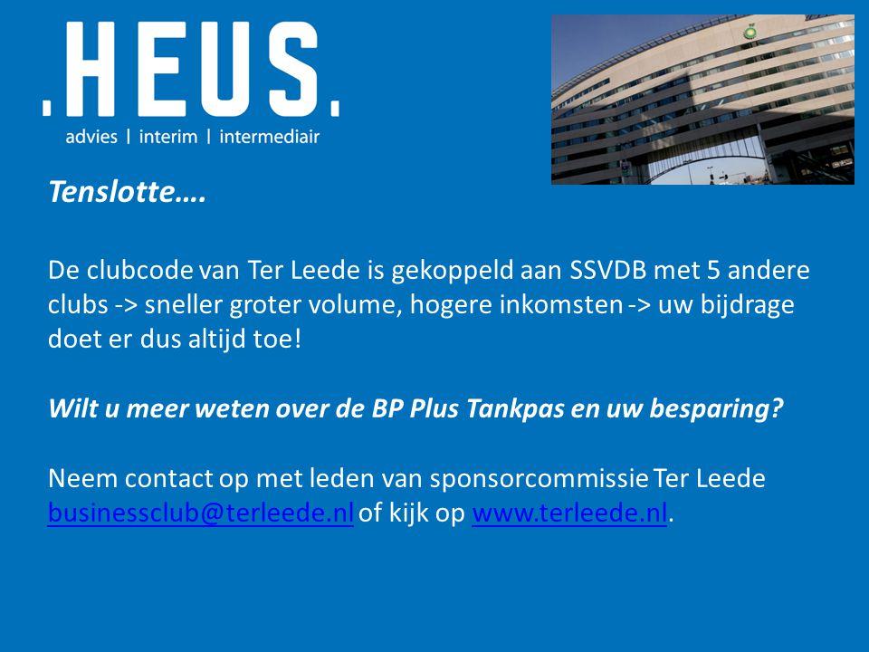 VRAGEN.HEUS werkt in opdracht van BP en Business Partners en in belang van sportclubs.