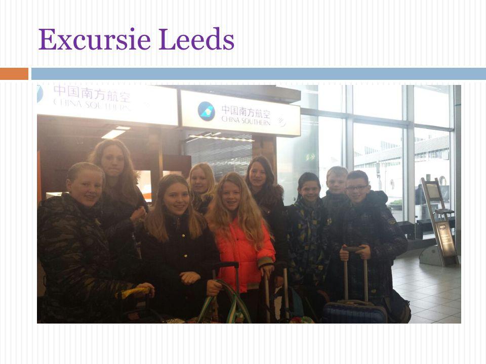 Excursie Leeds