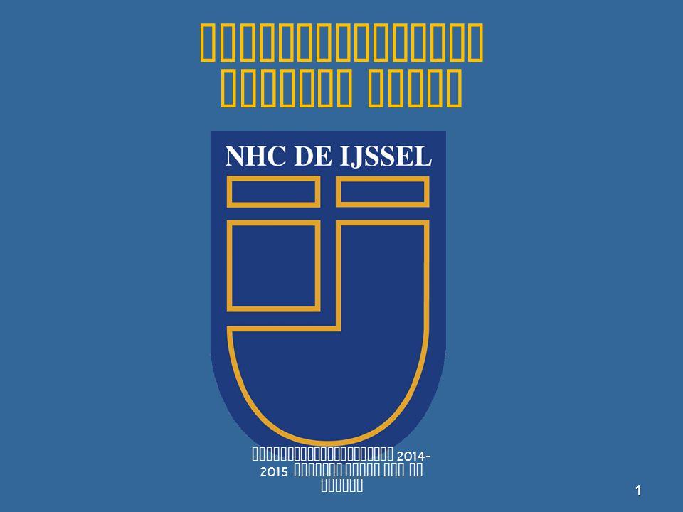 Spelbegeleiding Jongste Jeugd Spelbegeleiderscursus 2014- 2015 Jongste Jeugd NHC De IJssel1