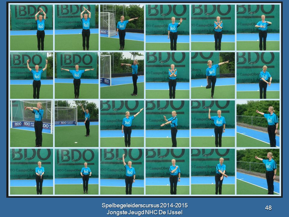 Spelbegeleiderscursus 2014-2015 Jongste Jeugd NHC De IJssel 48