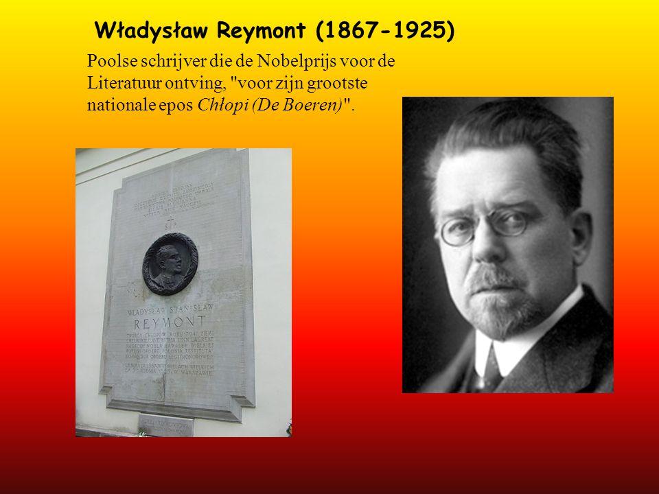Władysław Reymont (1867-1925) Poolse schrijver die de Nobelprijs voor de Literatuur ontving,