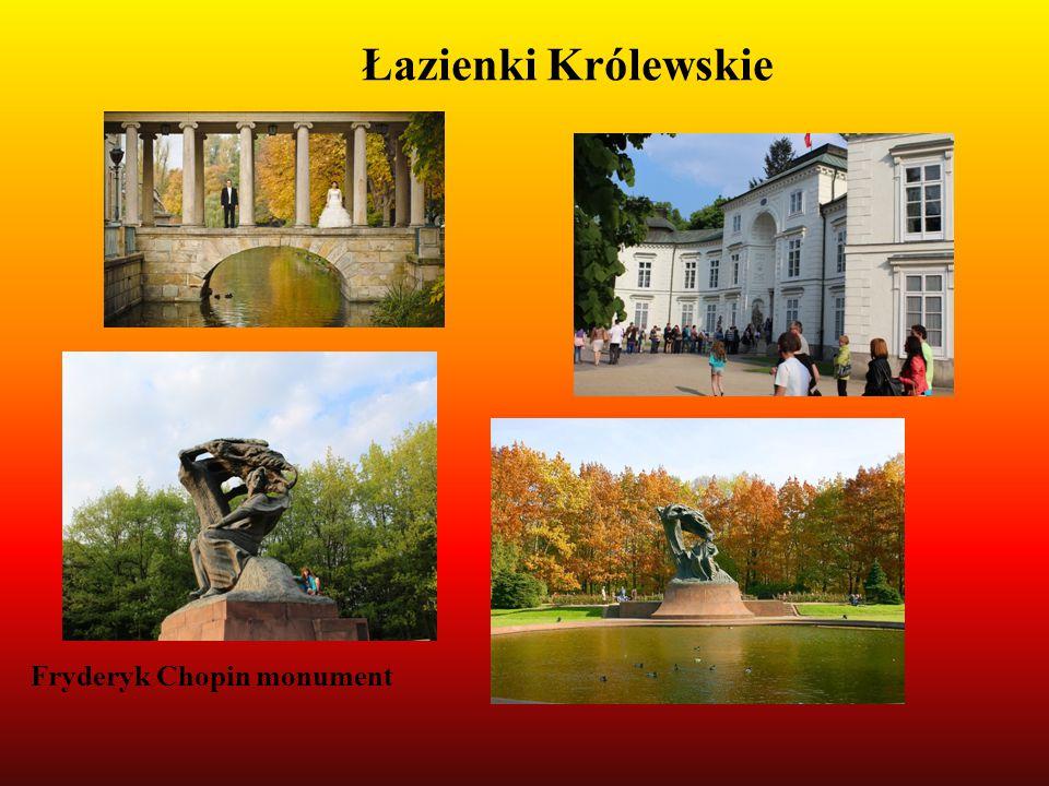 Fryderyk Chopin monument Łazienki Królewskie
