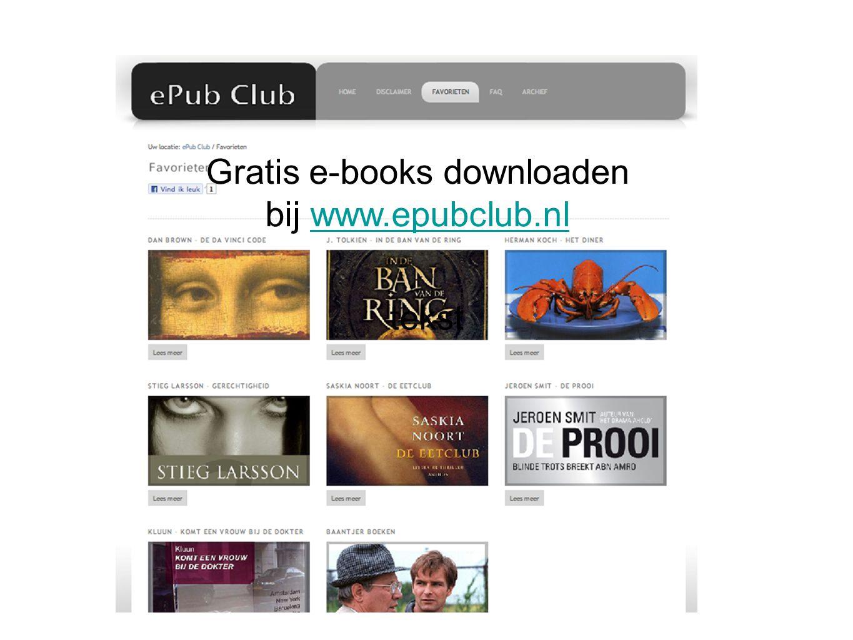 tekst Gratis e-books downloaden bij www.epubclub.nlwww.epubclub.nl