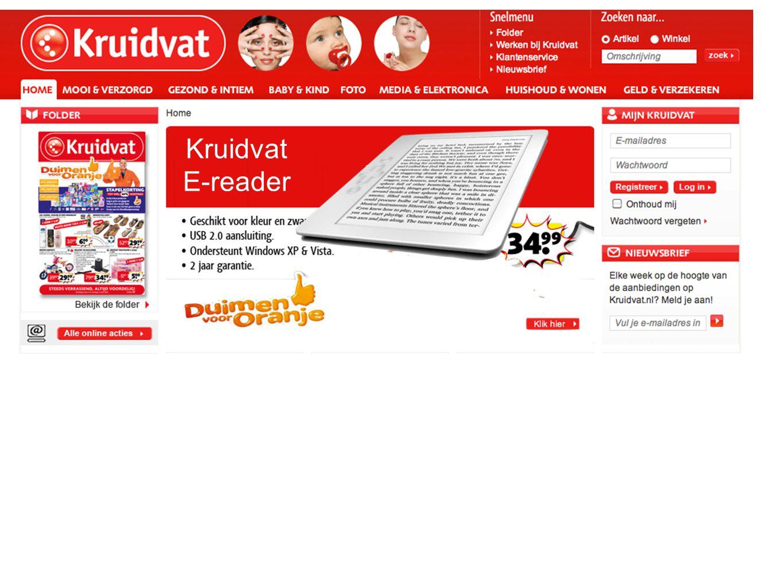 Kruidvat E-reader