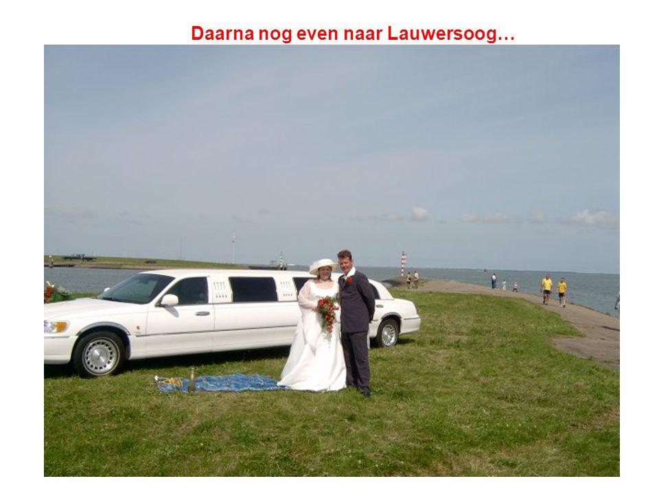 Daarna nog even naar Lauwersoog…