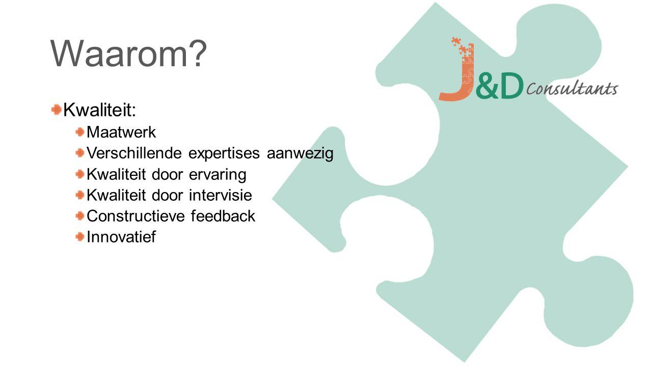 Zijn er nog vragen? Neem ook eens een kijkje op onze website: www.jdconsultants.nl/acteurspool
