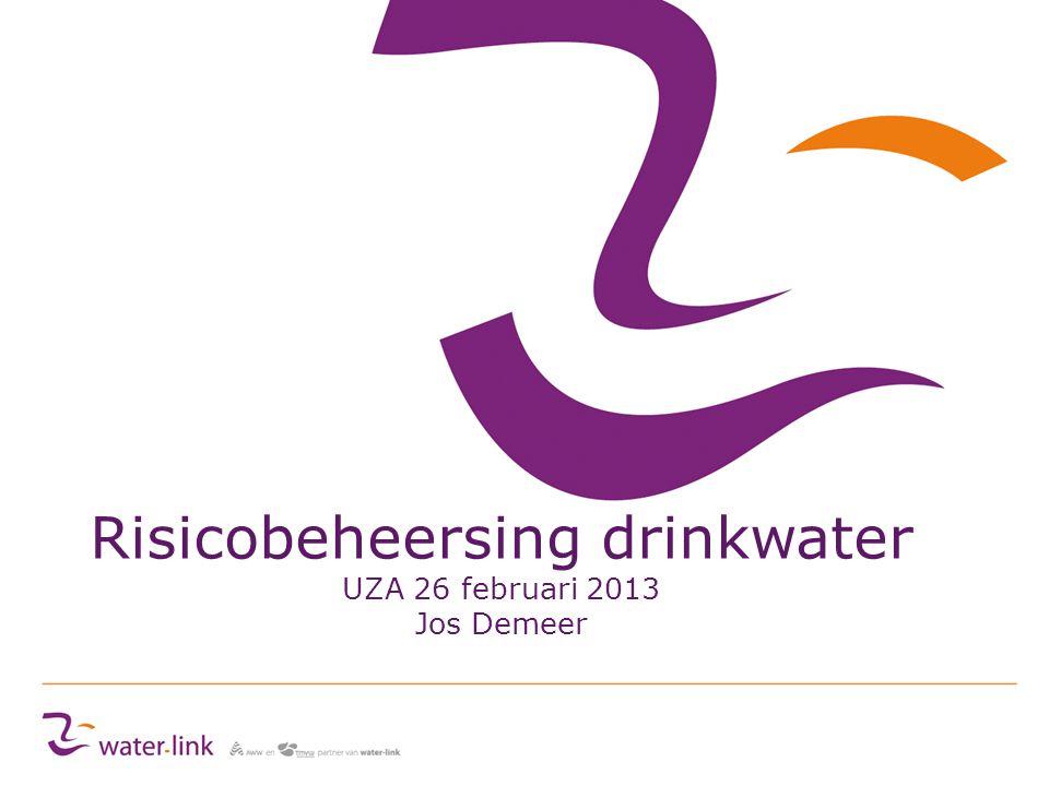 Risicobeheersing drinkwater UZA 26 februari 2013 Jos Demeer
