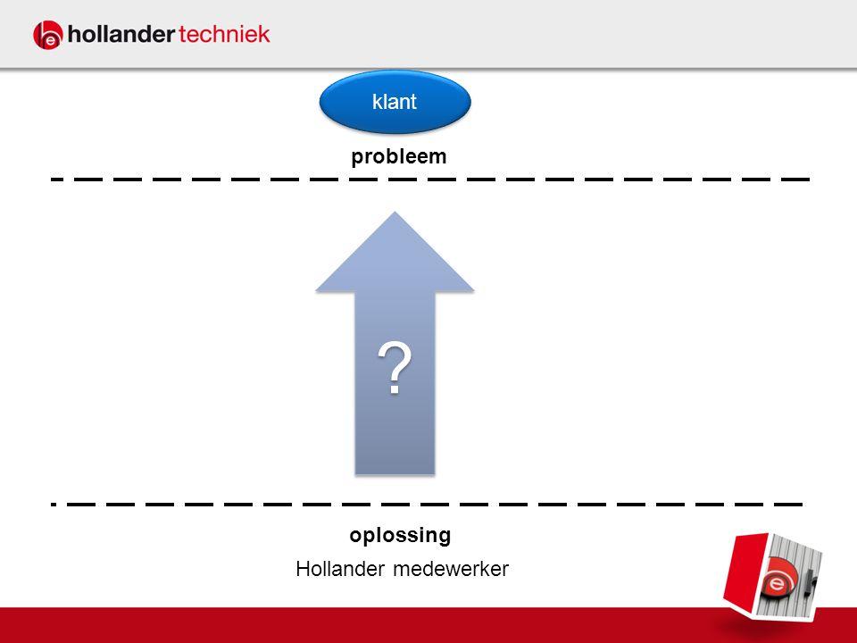 Hollander medewerker probleem oplossing klant ? ?