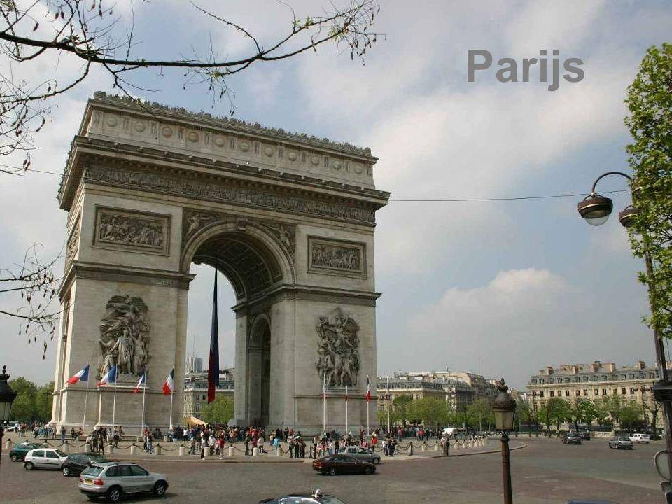Parijs Eiffeltoren Arc de Triomphe