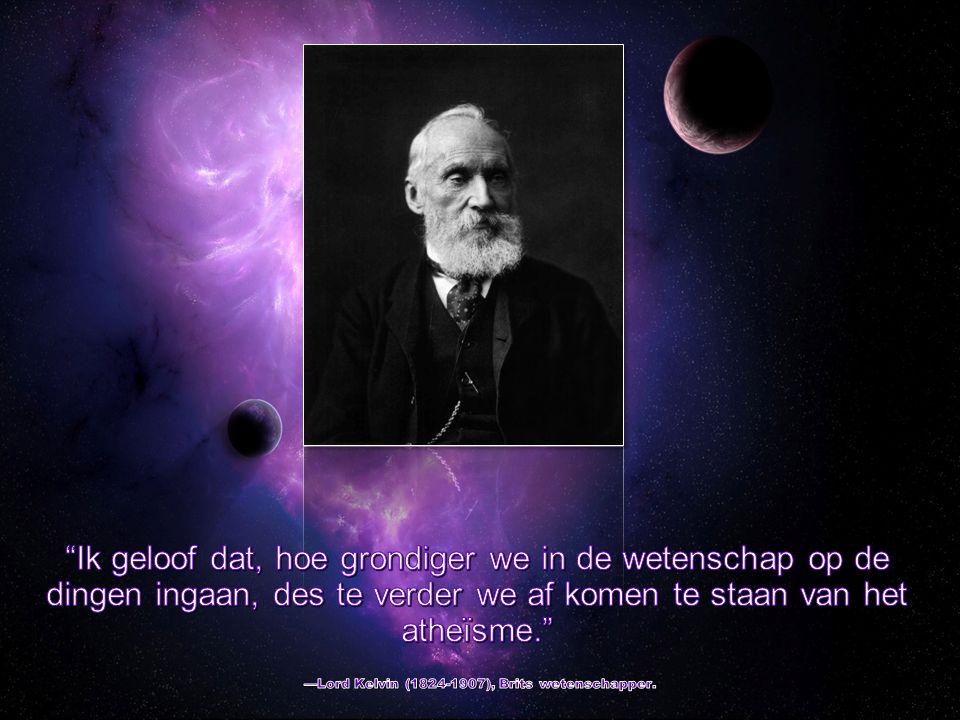 Het schijnt dat atheïsten kunnen opscheppen over een uitgebreid onderzoek dat ze gedaan hebben over het hele universum waarbij ze tot de overweldigende ontdekking zijn gekomen dat we hier maar bij toeval zijn.