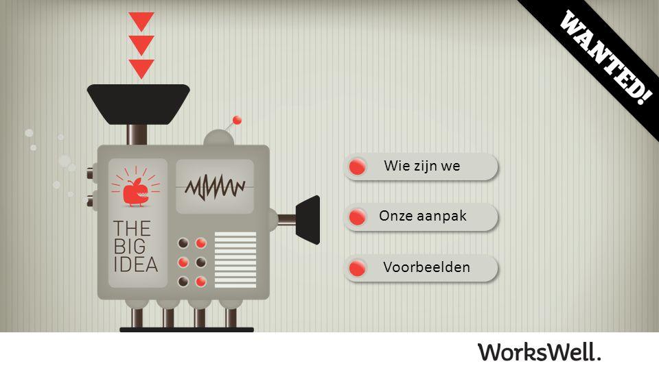 WorksWell is een creatief bureau dat zich heeft gespecialiseerd in de ontwikkeling van presentaties.