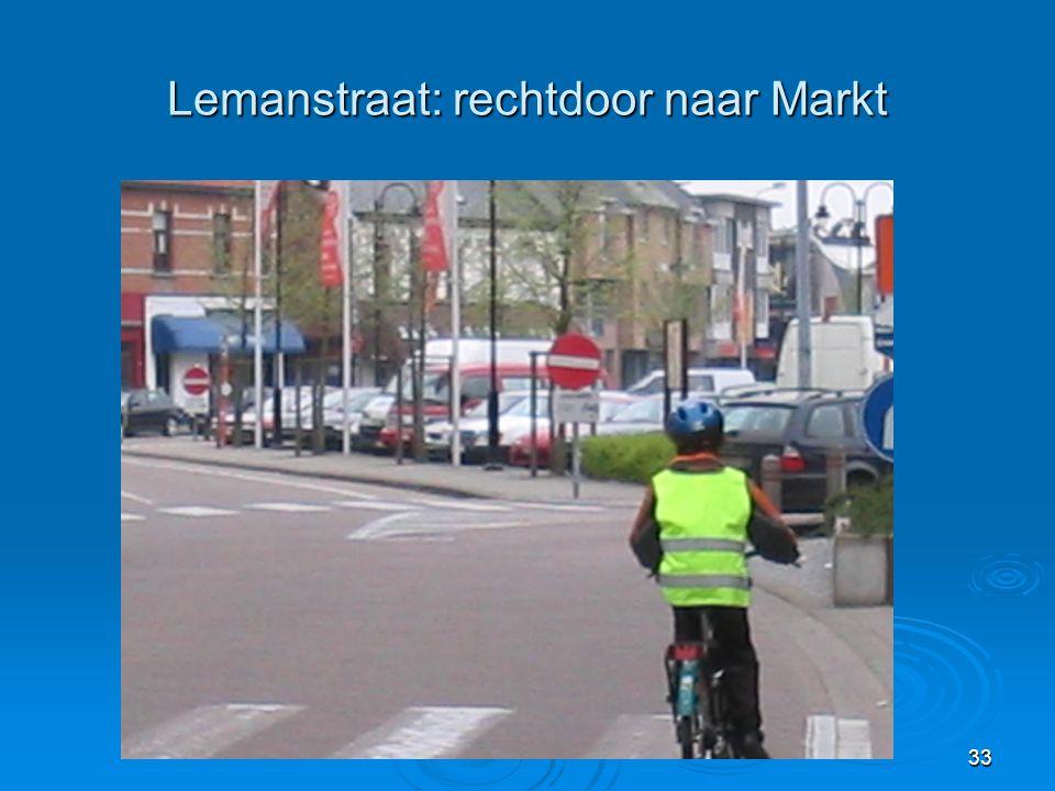 33 Lemanstraat: rechtdoor naar Markt
