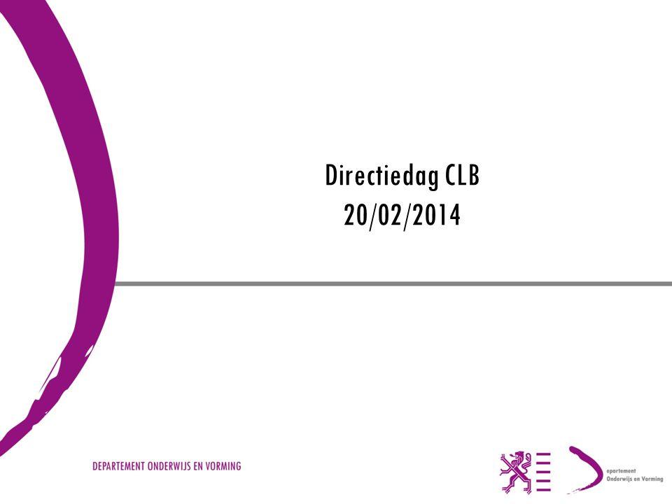 Directiedag CLB 20/02/2014