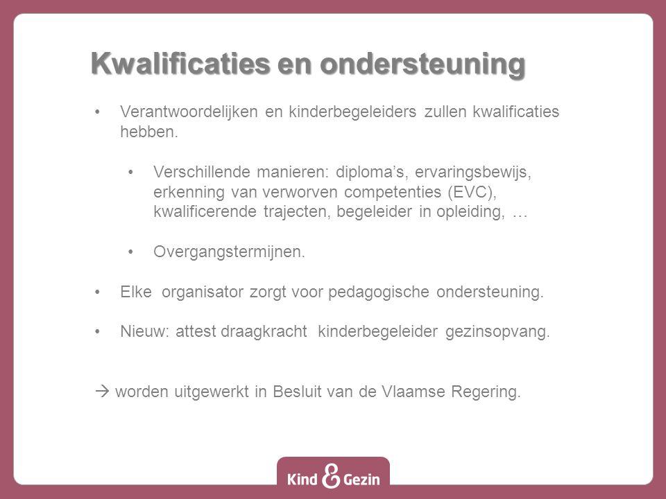 De Kinderopvangzoeker De Vlaamse Regering wil dat ouders eenvoudiger en sneller opvang vinden.
