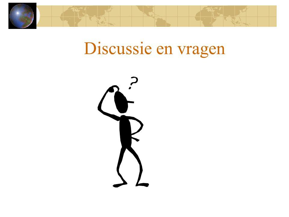 Discussie en vragen