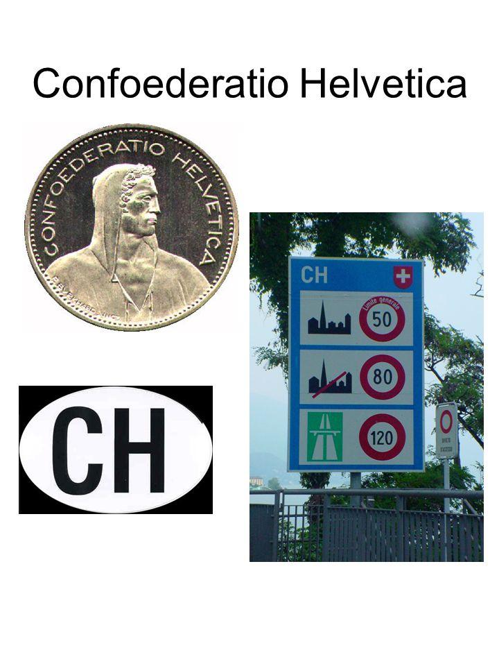 Wie kent de benaming van Zwitserland op postzegels? HELVETIA