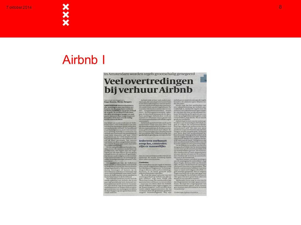 7 oktober 2014 8 Airbnb I