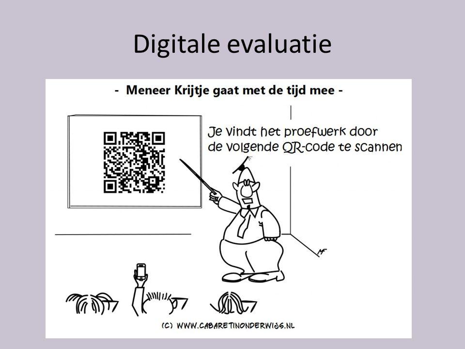 Digitale evaluatie
