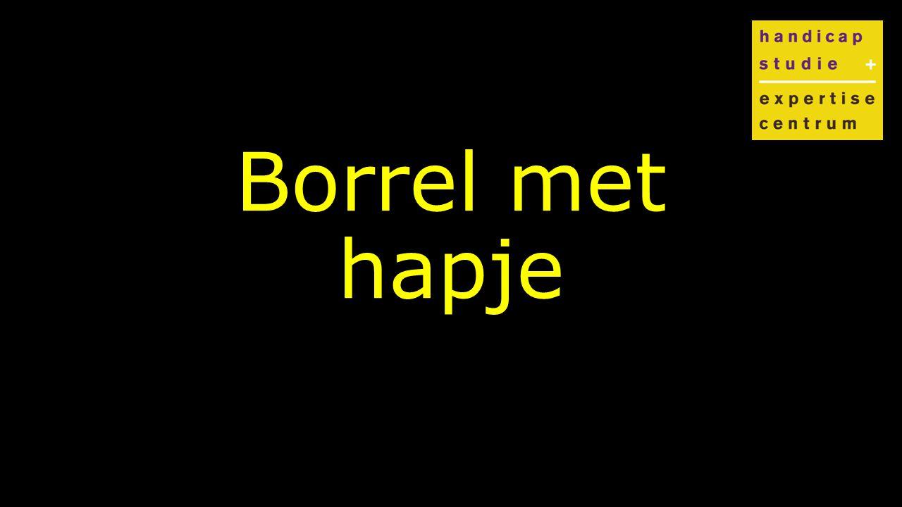 Klik om de stijl te bewerken Borrel met hapje