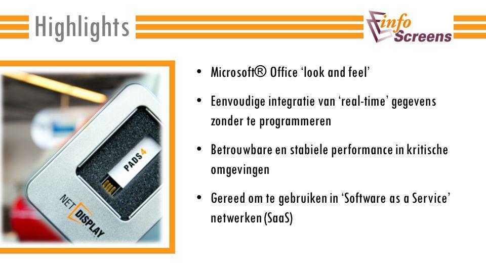 Combineer PADS4 met software van derden; eenvoudig en zonder programmeren.