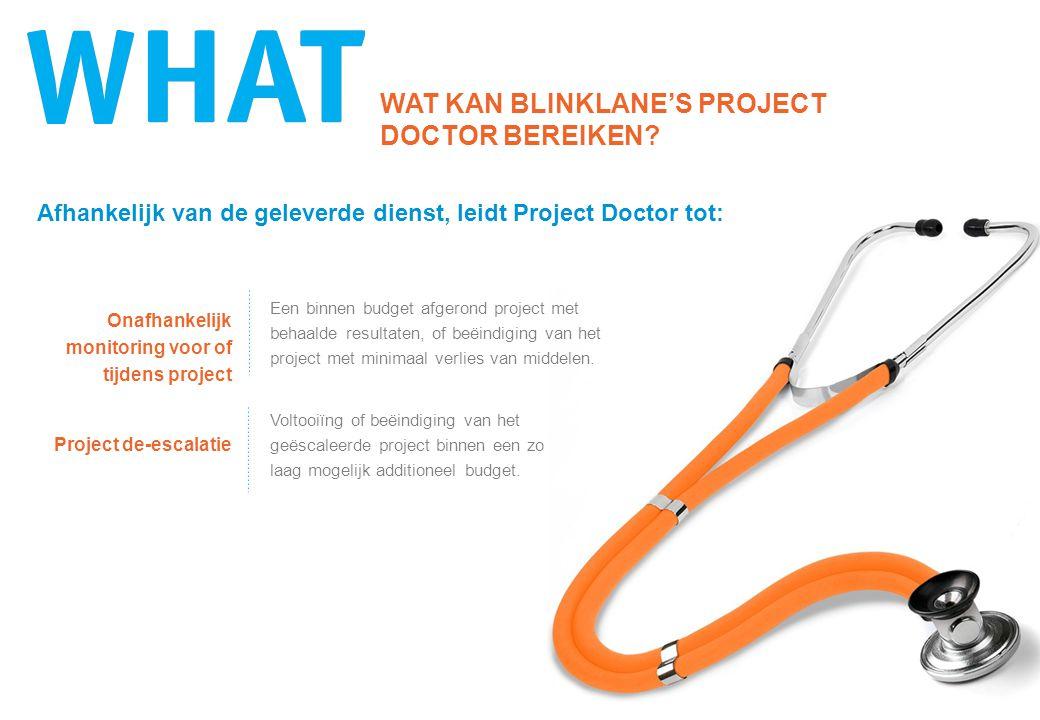 HET FUNDAMENT VOOR DE PROJECT DOCTOR DIENSTEN De Project Doctor diensten zijn gebaseerd op uitgebreid promotieonderzoek naar projectescalatieprocessen van diverse grote IT projecten en programma's, in verschillende organisaties en periodes.