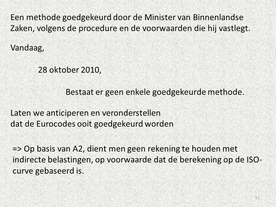 11 Een methode goedgekeurd door de Minister van Binnenlandse Zaken, volgens de procedure en de voorwaarden die hij vastlegt. Vandaag, 28 oktober 2010,