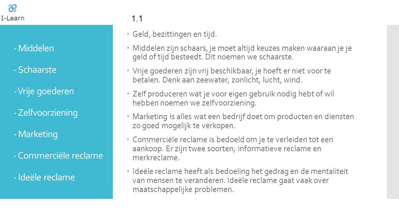 www.I-Learn.nu ProductbeleidPlaatsbeleid Promotiebeleid Prijsbeleid Marketingmix
