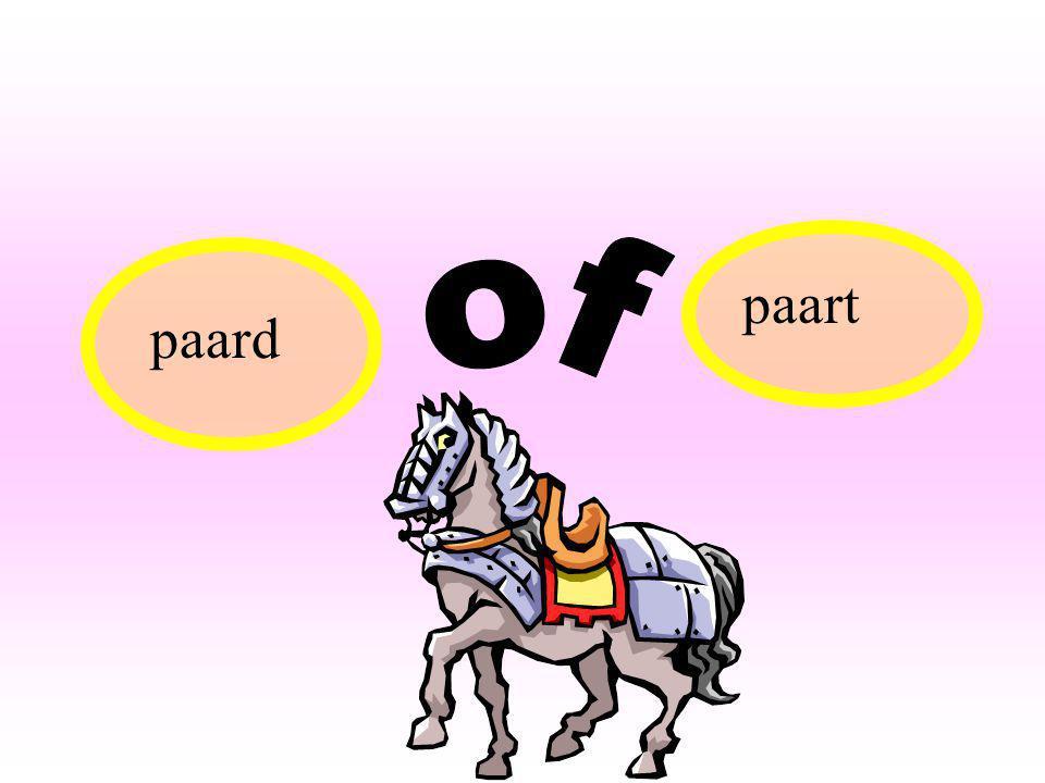 paart paard