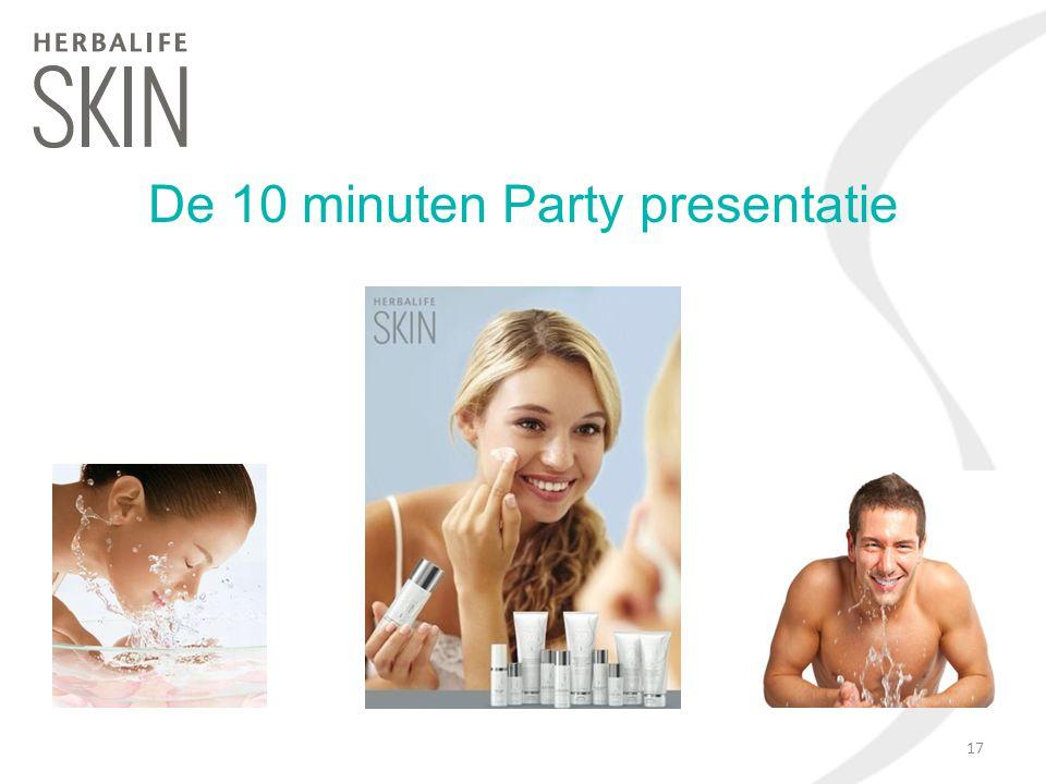 De 10 minuten Party presentatie 17